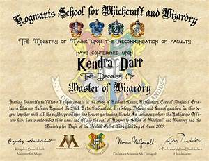 diy harry potter hogwarts diploma simply darrling With hogwarts certificate template