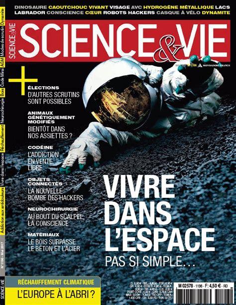 abonnement science et vie au meilleur prix kiosque mag
