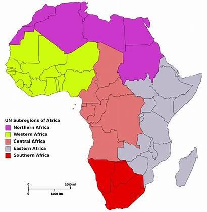 Africa Regions Map Wikipedia Svg Wiki