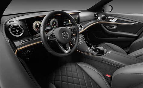mercedes e class interior mercedes e class interior revealed