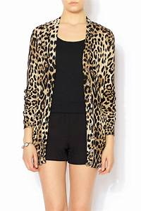 Ellison Leopard Print Cardigan from Glendale by Pink House