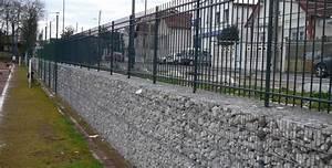 Mur De Cloture En Gabion : gabion modulable gabions ~ Edinachiropracticcenter.com Idées de Décoration