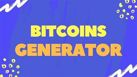 Get Bitcoin Instantly by Bitcoin Generator Unlimited Btc Earn Bitcoins Instantly