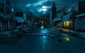 Dark, And, Stormy, Night, Wallpaper