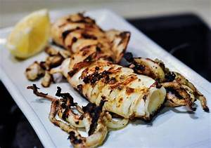grilled calamari greek style