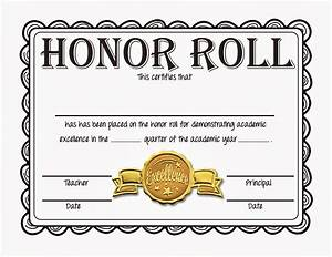 honor roll quotes like success With a b honor roll certificate template