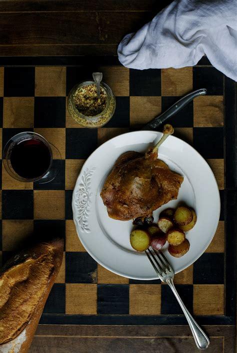 cuisiner confit de canard confit de canard revisited manger