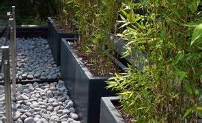 Bac Rectangulaire Pour Bambou : bambous en bacs ou en pots destin s aux terrasses en belgique ~ Nature-et-papiers.com Idées de Décoration