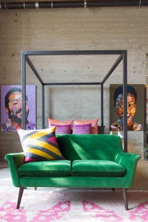 canap vert mettez un canapé vert et personnalisez l 39 intérieur