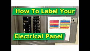 How To Map Out  Label Your Electrical Panel  Fuse Panel