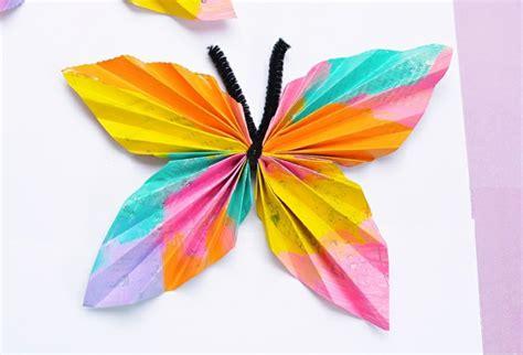 Schmetterlinge Basteln Mit Kindern  24 Tolle Ideen Für