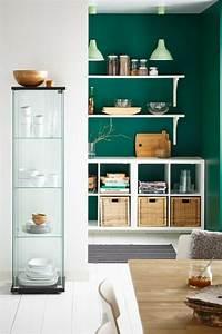 Wand Streichen Ideen Grün : 45 super ideen f r farbige w nde ~ Markanthonyermac.com Haus und Dekorationen