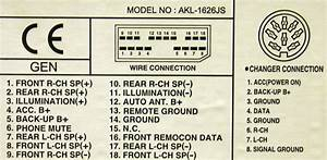 Daewoo Car Radio Stereo Audio Wiring Diagram Autoradio