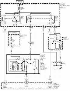 The Windshield Wipers On My 98 Grand Caravan Do Not Work