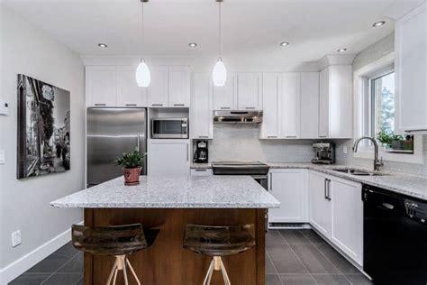 comptoir ilot cuisine rénovation de cuisine à montréal max larocque construction