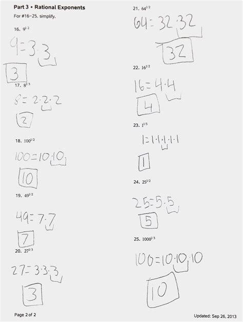 Mistakes, Radicals, Rational Exponents, And Partitioning?  Reason And Wonder