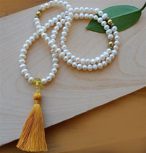 Pearl Mala Prayer Beads