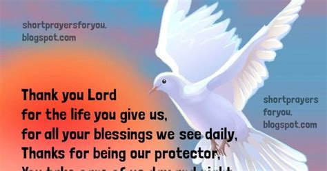 short prayer  thanksgiving short prayers