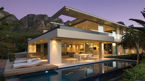 architecture designs for houses stunning crescent stunning vacation house in cape town