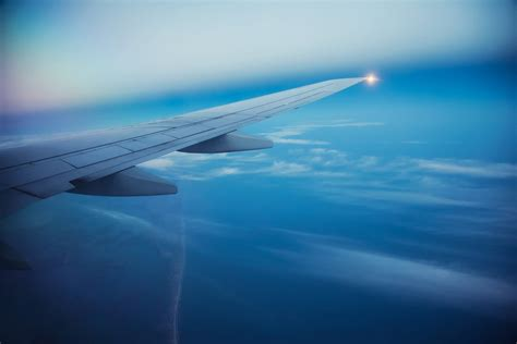 airplane blue sky wallpaper free download gamefree