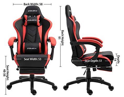 Dowinx Sedia Gaming Sedia Ergonomica Da Corsa Reclinabile