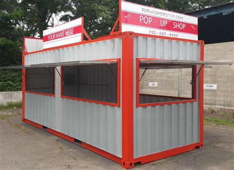 Up The Shop by Container Pop Up Shop Portable Concession Stands
