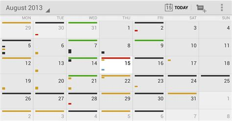 tasc colors for today 12 of the best calendar apps available for your android