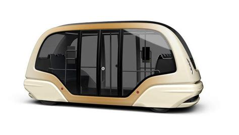 Futuristic Driverless Pods For Singapore's