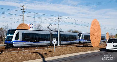 Scaleybark Light Rail Station by Charlotte Lynx Blue Line Light Rail