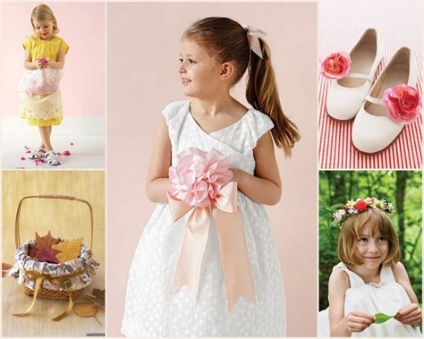 Wedding Accessories For Girls : Flower Girl Accessories
