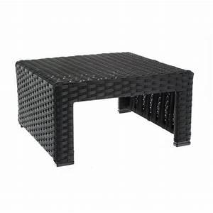 Table Basse Resine Tressee : table basse de jardin saona r sine tress e alu achat ~ Teatrodelosmanantiales.com Idées de Décoration