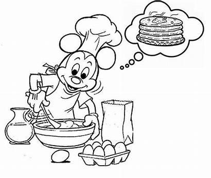 Crepes Chandeleur Coloring Coloriages Pancake Pfannkuchen Pannenkoeken