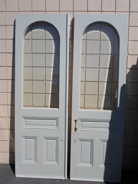 doors  arched glass panel  diggerslist