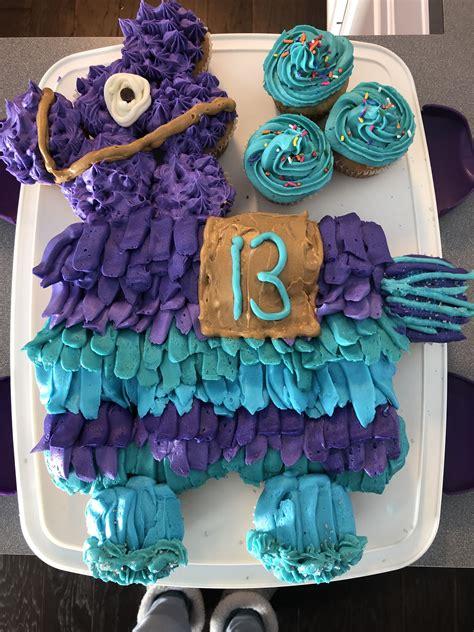 fortnite llama cupcake cake boy birthday cake birthday
