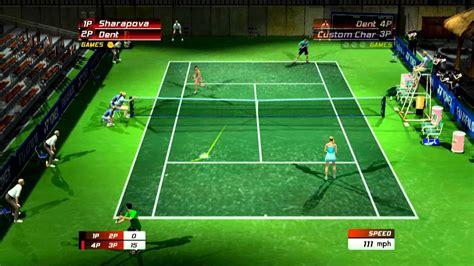 Power smash 3 in japan) is the second arcade game sequel to sega's tennis game franchise, virtua tennis. Virtua Tennis 3 Xbox Live Match 2 - YouTube