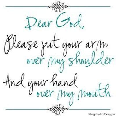 God Please Hold My Hand Quotes