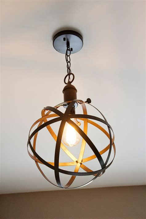 diy industrial rustic pendant light bless er house