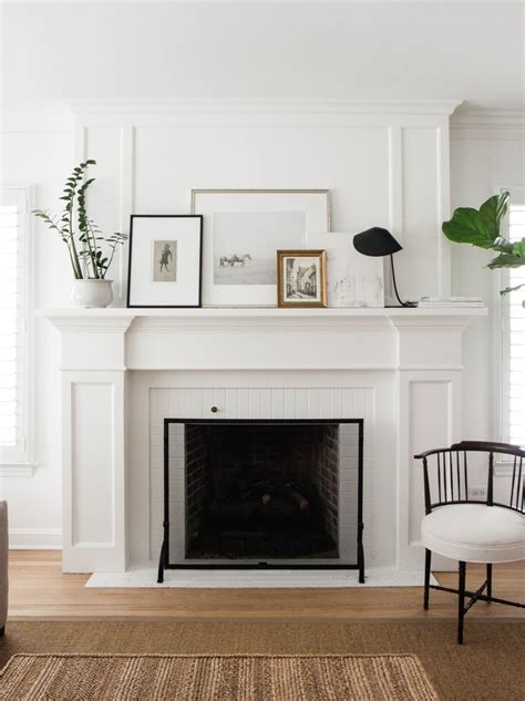 simple mantel decorating your mantelpiece for spring