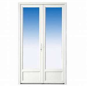 Portes fenetres lapeyre toute porte d entree en for Porte d entrée pvc en utilisant porte fenetre bois 3 vantaux