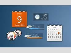 Gadgets de bureau pour Windows 10
