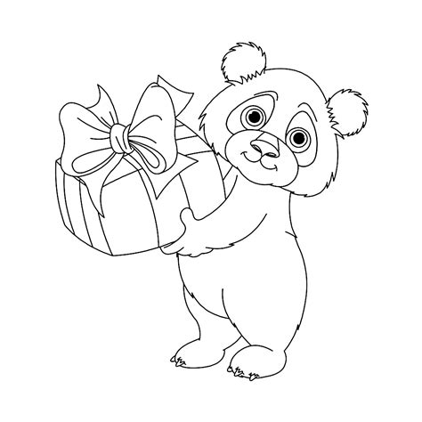 Kleurplaat Pandabeer by Leuk Voor Pandabeer 0001