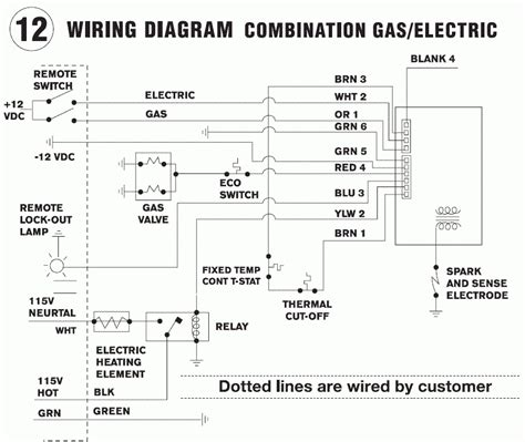 wiring diagram for suburban rv water heater suburban water heater wiring diagram wiring diagram and