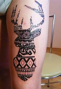 Tatouage Loup Graphique : tatouage graphique animaux ~ Mglfilm.com Idées de Décoration