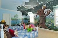 great kids bedroom mural Anita Roll - Contemporary - Home Office - atlanta - by Anita Roll Murals