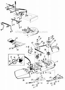Mtd 130-600-000 Parts List And Diagram