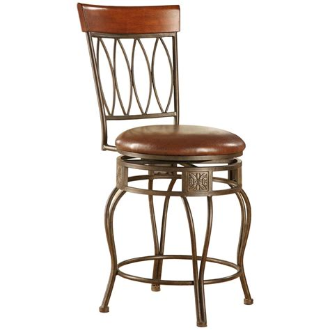 At Home Bar Stools by Linon Home Decor Inc 30 Quot Oval Back Bar Stool 206614