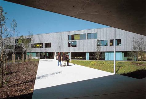pronote college du mont d hor fassio viaud architects atelier jp gt coll 232 ge du mont d hor 224 st thierry hic arquitectura