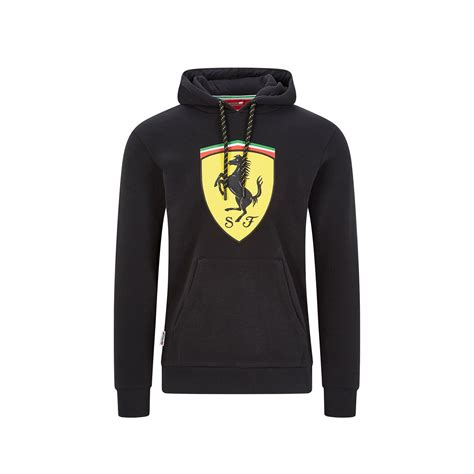 The passion of these fans will continue to fuel ferrari on the race track to catch up with mercedes. 2020 Ferrari Italy F1 Mens Shield Hoodie black | Clothing \ Sweatshirts Shop by Team \ Formula 1 ...