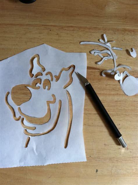 jenciinsideout freezer paper stencils