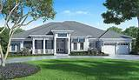Florida House Plan with Detached Bonus Room 86017BW